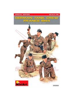Figuras tanque alemán Francia 1944 IIGM