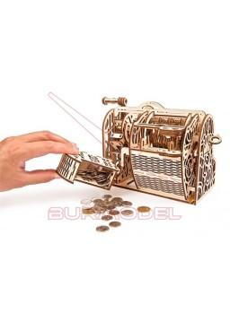 Maqueta mecánica Caja registradora 1/3