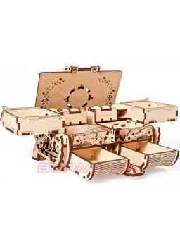 Maqueta Cofrecito de época. Kit de madera 185 pzs