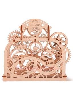 Maqueta de madera mecánica Teatro. kit Ugears 70 p