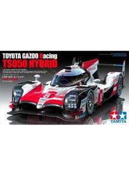 Maqueta coche toyota gazoo racing ts050 hybrido