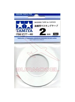 Cinta de enmascarar 2 mm Tamiya