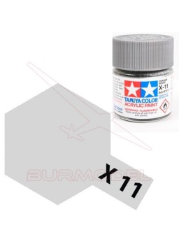 Pintura Tamiya X-11 Chrome Silver Gloss 23ml