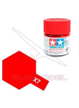 Pintura Tamiya X-7 Red Gloss 23ml
