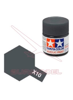 Pintura Tamiya X-10 Gun Metal Gloss 23ml