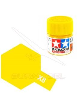 Pintura Tamiya X-8 Lemon Yellow Gloss 23ml
