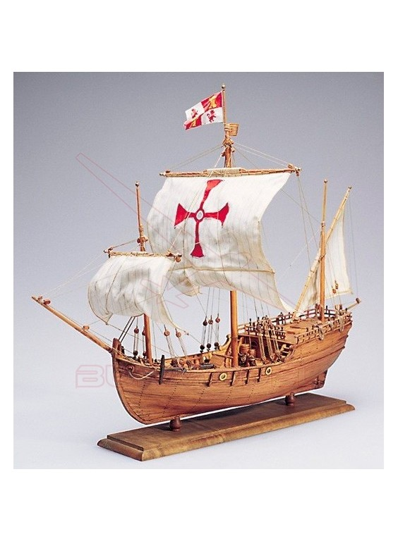 Kit naval Pinta 1492 de Cristóbal Colón Amati