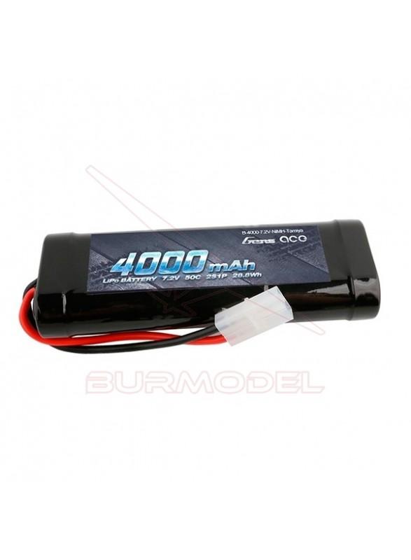 Batería NiMh 7,2V 4000 Mah conector Tamiya