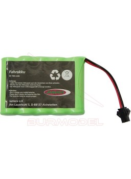 Bateria 6V 700mAh conector negro Derago/forester