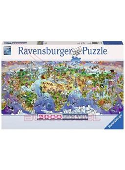 Puzzle 2000 piezas Maravillas del mundo