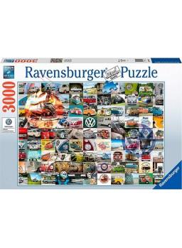 Puzzle 3000 piezas 99 Momentos VW Bulli