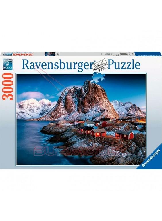 Puzzle 3000 piezas Hamnoy, Lofoten