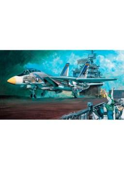Maqueta avión F14 A Navy Fighter 1/48