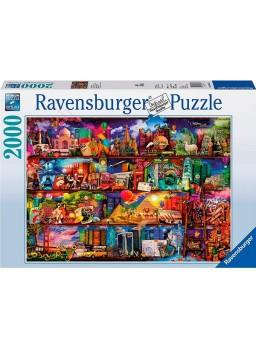 Puzzle 2000 piezas Milagrosa mundo de los libros