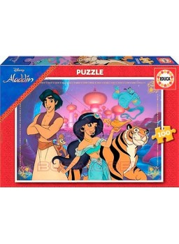 Puzzle 100 piezas Aladdín