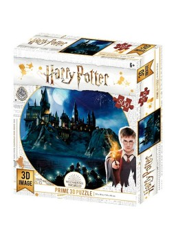 Harry Potter Puzzle lenticular Hogwarts 500 piezas