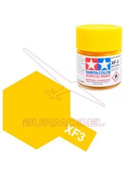 Pintura Tamiya XF-3 Flat Yellow 23ml