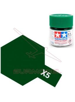 Pintura Tamiya X-5 Green Gloss 23ml
