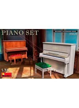 MiniArt Accesorios Set Piano 1/35