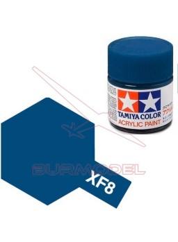 Pintura Tamiya XF-8 Flat Blue 23ml