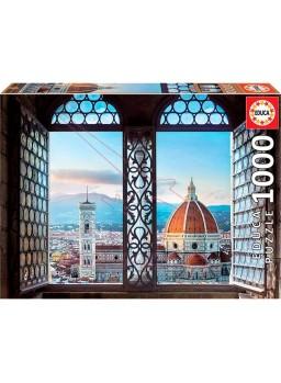 Vistas de Florencia. Puzzle1000 piezas 68x48cm