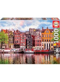 Puzzle1000 piezas Casas danzantes, Ámsterdam