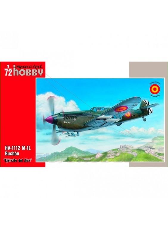 Maqueta avión HA-112 M-1L Buchón 1/72