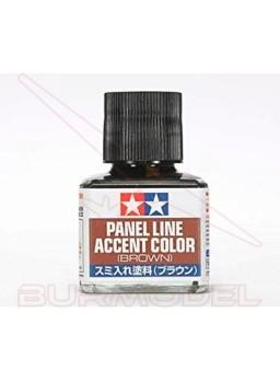 Panel line marrón Tamiya 40ml.