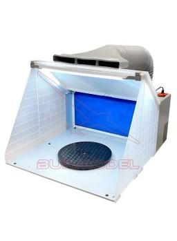 Cabina extractora para aerografía Dismoer
