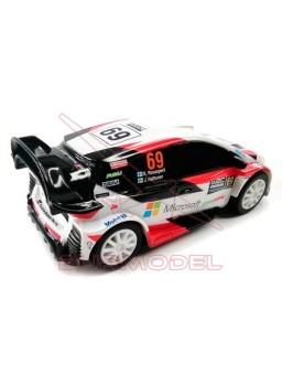 Coches slot Toyota Yaris WRC Microsoft escala 1:43