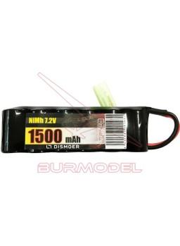 Bateria NiMH 7,2V 1500mAh mini tamiya