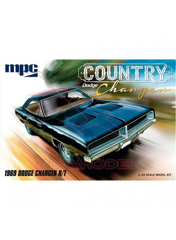 Maqueta Dodge Country Charger 1969 1/25