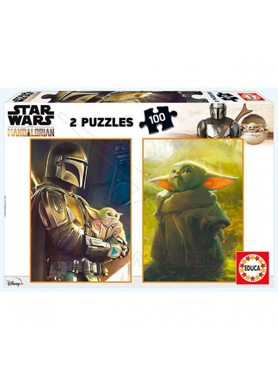 Puzzles 100 piezas Star Wars Mandalorian