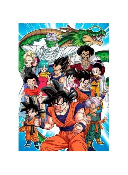 Puzzle 1000 piezas Dragon Ball Goku