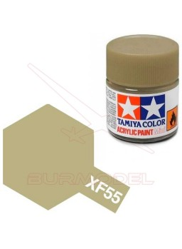 Pintura Tamiya XF-55 Flat Deck Tan 23ml
