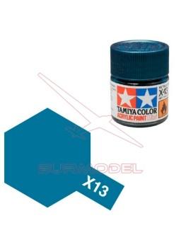 Pintura Tamiya X-13 Azul metálico 23ml