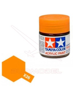 Pintura Tamiya X-26 Clear Orange 23ml