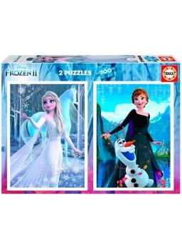 Puzzles 500 piezas Frozen II