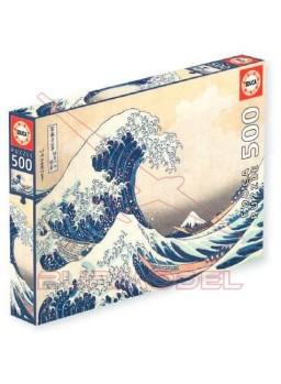 Puzzle 500 piezas Gran Ola de Kanagawa