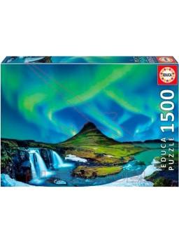 Puzzle 1500 piezas Aurora Boreal, Islandia