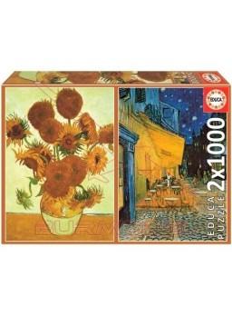 Pack 2x1000 Vincent Van Gogh