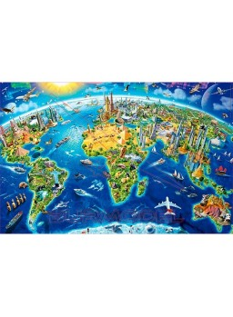 Puzzle miniature Símbolos del mundo 1000pzs