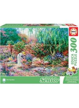 Puzzle 300 piezas her garden