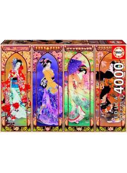 Puzzle 4000 piezas Collage Japonés