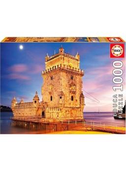 Puzzle 1000 piezas Torre Belem Lisboa