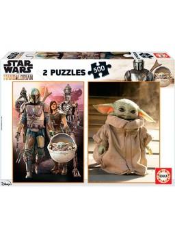 Puzzles 500 piezas Star Wars Mandalorian