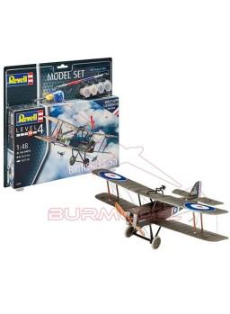 Maqueta avión Model Set British S.E. 5a 1:48