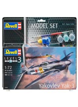 Maqueta avión Model Set Yakovlev Yak-3 1:72