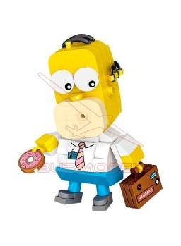 Kit bloques 163 piezas Homer Simpson 1467