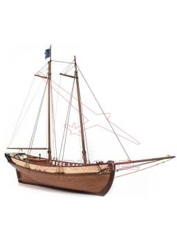 Kit construcción madera barco Polaris sin velas